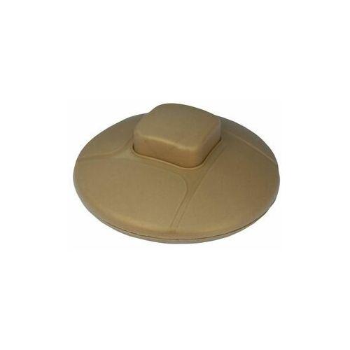 Włącznik pojedynczy NOŻNY PPN-ZLO-2A złoty ELGOTECH (5902694100552)