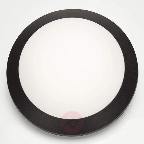 Czarny – kinkiet LED Umberta 11 W ciepła biel