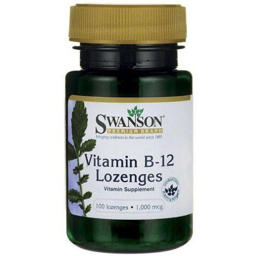 Tabletki Witamina B-12 1000mcg + Kwas foliowy 100 tabl do ssania