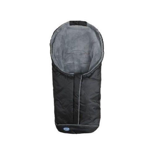 URRA Śpiworek na nóźki Standart mały czarny/szary (4250224300547)