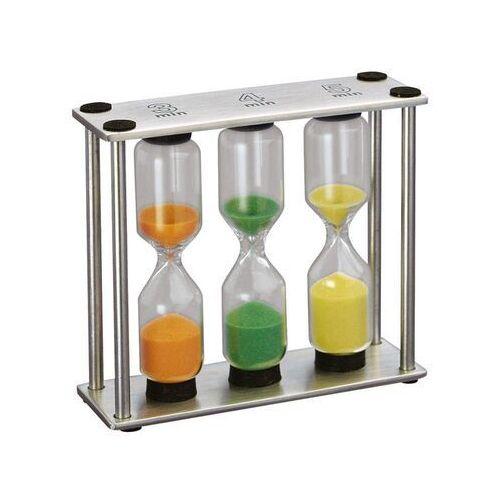 Cilio - timer - trzy klepsydry (wymiary: 9 x 8 x 3 cm)