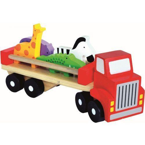 Bino Drewniane ciężarówka ze zwierzątkami - sprawdź w wybranym sklepie