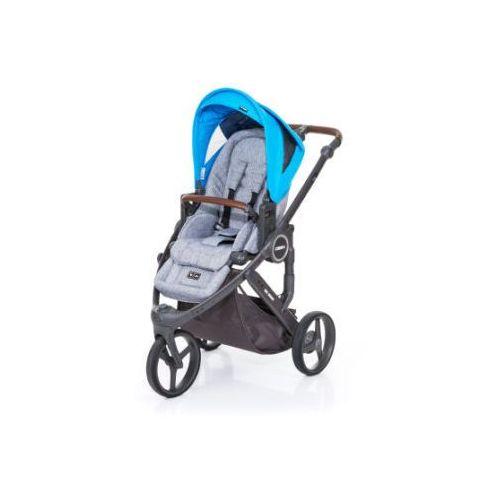 ABC DESIGN Wózek dziecięcy Cobra plus graphite grey-water, stelaż cloud / siedzisko graphite grey