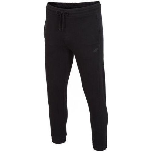 4f Męskie spodnie dresowe h4z17 spmd001 czarny l