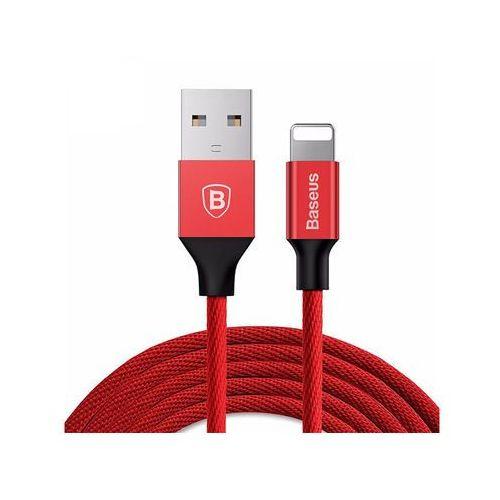Baseus oryginalny kabel lightning iphone yiven 1,2m red - czerwony (6953156248830)