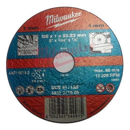 Milwaukee Tarcza do cięcia metalu - 125 x 1 x 22,23 -