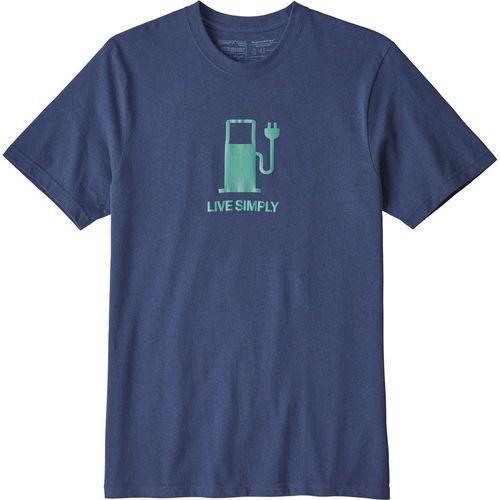 Patagonia LIVE SIMPLY POWER RESPONSIBILI TEE Tshirt z nadrukiem dolomite blue (0190696481174)