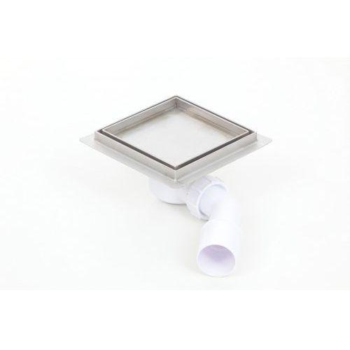Kesmet wpust podłogowy 10x10cm 100x100KF_p Ceramic (syfon plastikowy)
