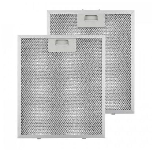 Klarstein filtr aluminiowy przeciwtłuszczowy 27,1 x 31,8cm fitr wymienny 2 szt. wyposażenie (4260509689076)