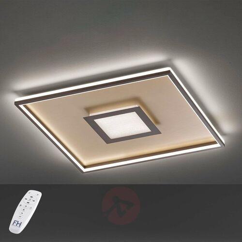 Lampa Sufitowa Fischer & Honsel Bug LED Rudy, Złoty, 1-punktowy, Zdalne sterowanie - Nowoczesny - Obszar wewnętrzny - Bug - Czas dostawy: od 6-10 dni roboczych