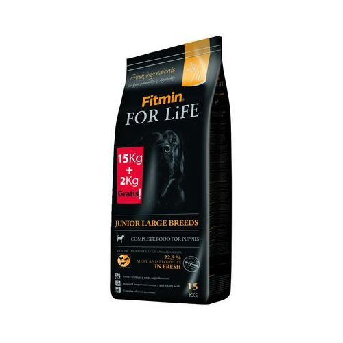 FITMIN For Life Junior Large Breeds 15kg