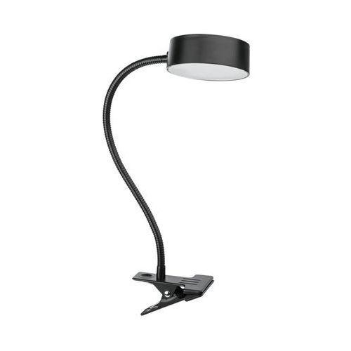 Lampka solarna z klipsem tella ip44 czarna marki Inspire