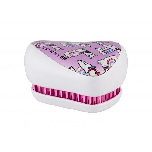 Tangle teezer compact styler szczotka do włosów 1 szt dla dzieci skinnydip lovely llama (5060173379797)
