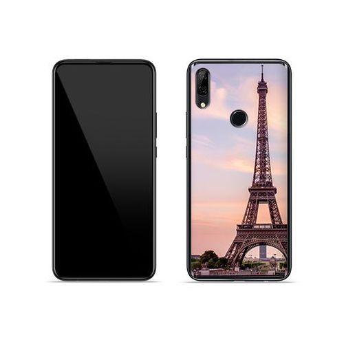 Huawei P Smart Z - etui na telefon Foto Case - wieża Eiffla na tle miasta, ETHW918FOTOFT073000
