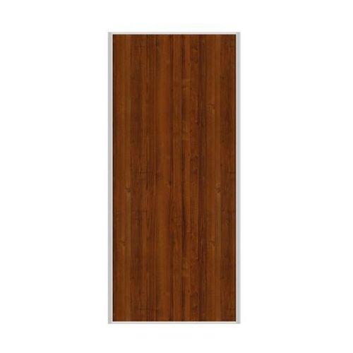 Spaceo Drzwi przesuwne do szafy orzech 98.7 cm
