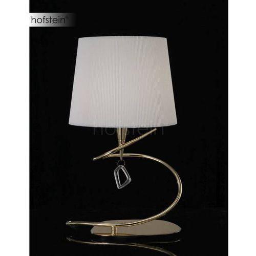 Mantra Mara lampa stołowa Mosiądz, 1-punktowy - Nowoczesny - Obszar wewnętrzny - Mara - Czas dostawy: od 2-3 tygodni (8435153216305)