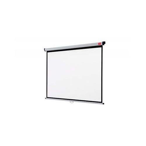 Ekran projekcyjny NOBO, ścienny, 4:3,2400x1813mm, biały (5028252250276)