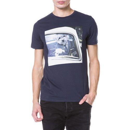 Jack & Jones Hilarious Koszulka Niebieski XL, kolor niebieski