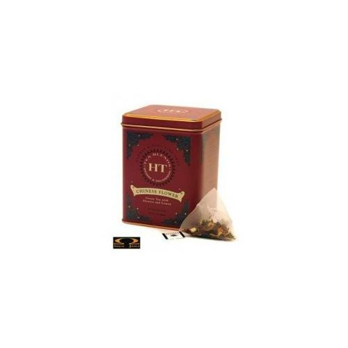 Herbata  chinese flower, herbata zielona aromatyzowana, puszka piramidki 20 szt. marki Harney & sons