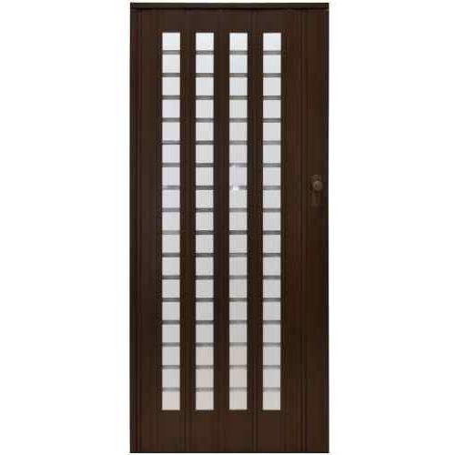 Drzwi Harmonijkowe 015 B1 Orzech Mat 86 cm