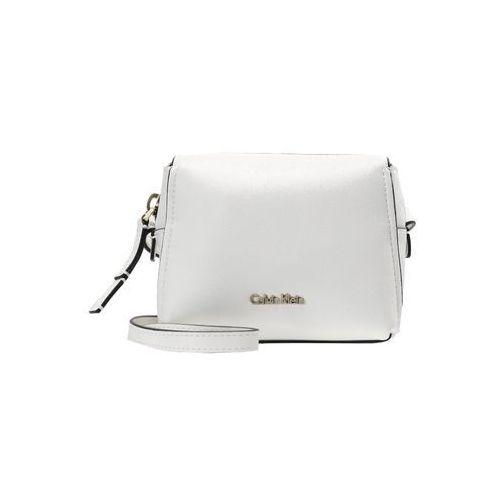 Calvin Klein DOWNTOWN SMALL CROSSBODY Torba na ramię white