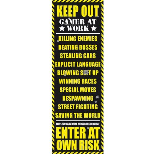 Zakaz Wstępu - Pokój Gracza - Wersja Dla Dorosłych - plakat, kup u jednego z partnerów