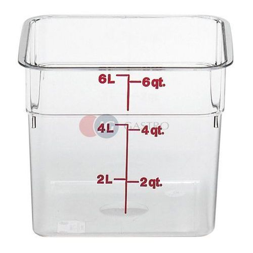 Pojemnik z miarką z poliwęglanu 5,7 l 6SFSCW/135, 6SFSCW/135