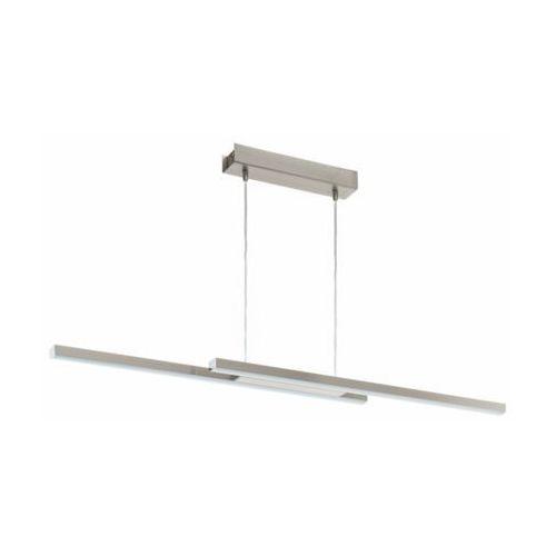 Lampa wisząca Eglo Fraiolo-C 97907 sufitowa 2x17W LED satyna, kolor Srebrny