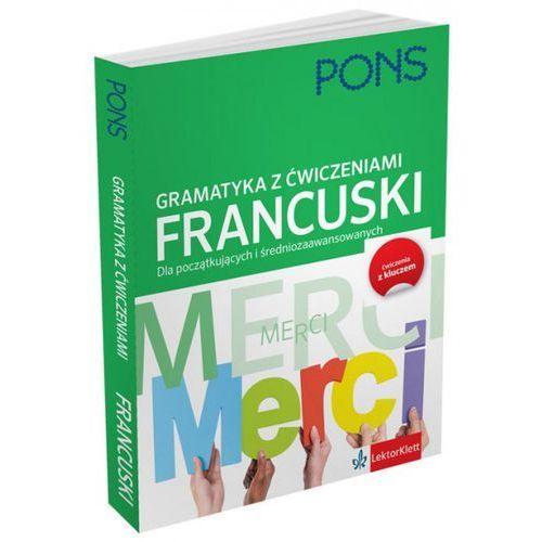 Gramatyka z ćwiczeniami francuski, oprawa miękka