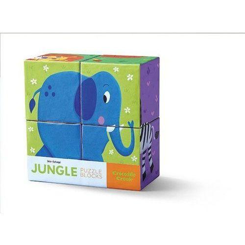 Klocki-układanki, Dżungla, 4 elem.