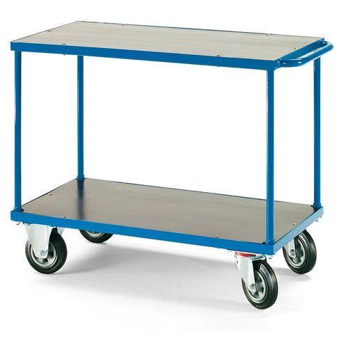 Wózek platformowyplatforma: 1000x700mmz hamulcem marki Aj