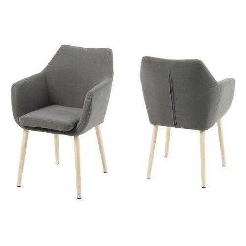 Krzesło Nora, kolor brązowy