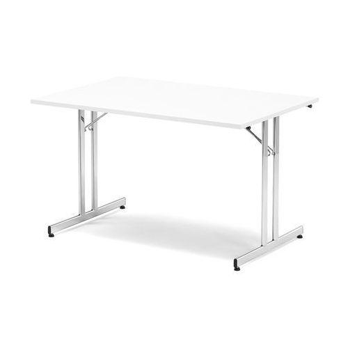Stół konferencyjny EMILY, składany, 1800x800x720 mm, brzoza, chrom, 143681