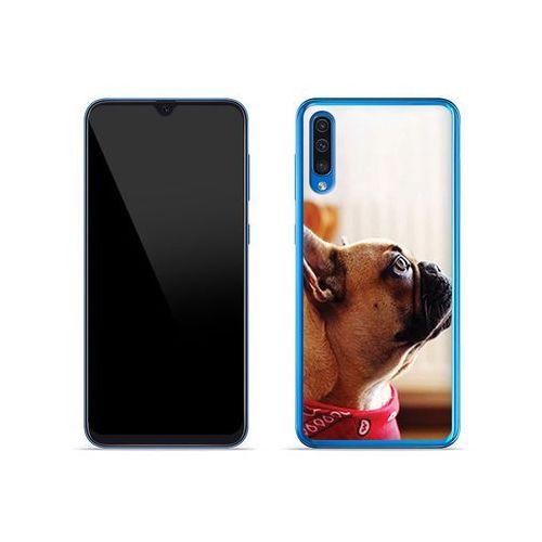 Samsung galaxy a50 - etui na telefon foto case - buldog z apaszką marki Etuo foto case