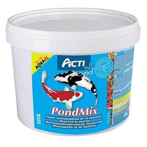 acti pond mix - pokarm wieloskładnikowy dla ryb stawowych 2l (worek) marki Aqua el