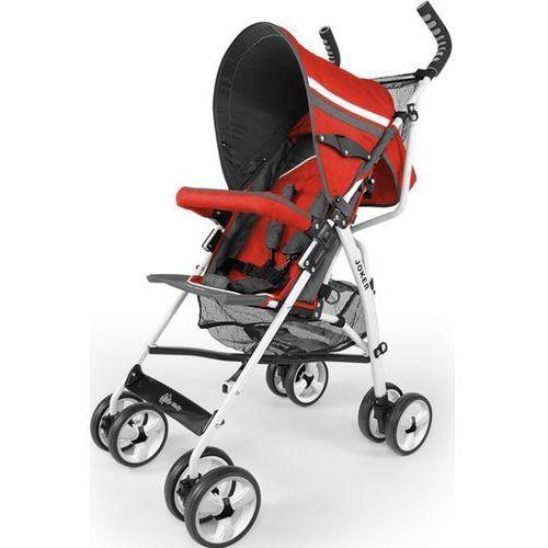 Wózek spacerowy joker 2013 czerwony #b1 marki Milly-mally