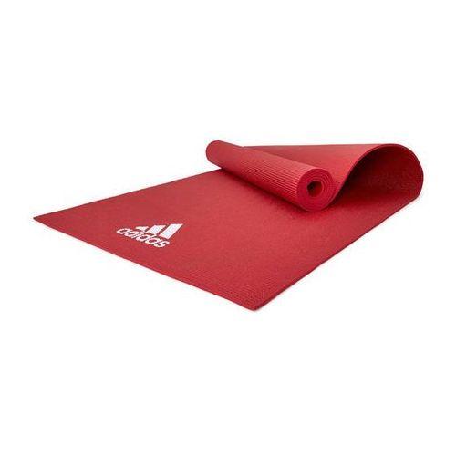Mata do jogi 4 mm ADYG-10400RD Adidas - czerwony