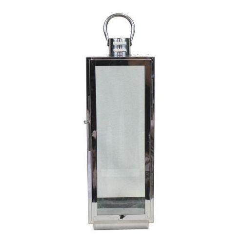Latarnia metalowa Silver 45 cm