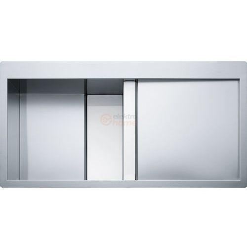 Franke Crystal CLV 214 prawa komora (białe szkło), CLV 214 KOMORA Z PRAWEJ