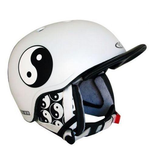 Worker Kask snowboardowy flux - kolor jing jang, rozmiar s (50-54) (8595153623531)
