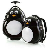 Zestaw: walizka i plecak Heys - Pingwin
