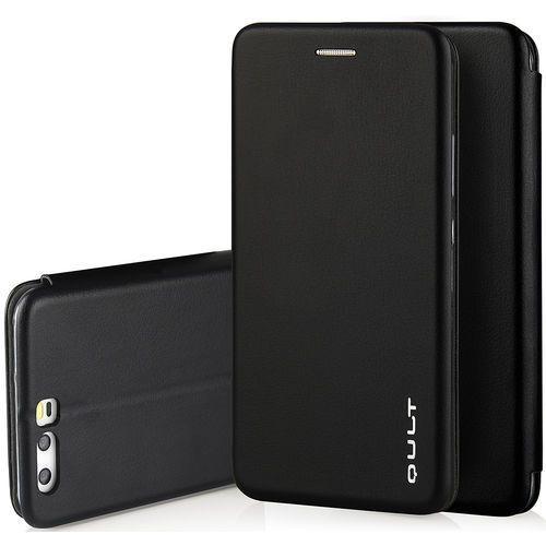 Etui QULT Flip Case Round do Huawei Honor 7X Czarny, kolor czarny