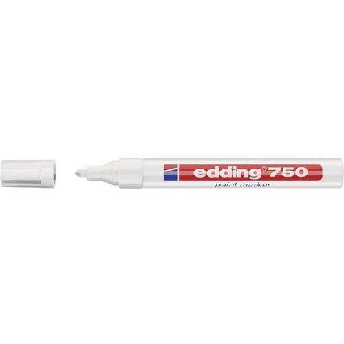 Marker do malowania Edding 4-750049 Biały Kształt okrągły 2 - 4 mm 1 szt. (4004764018642)