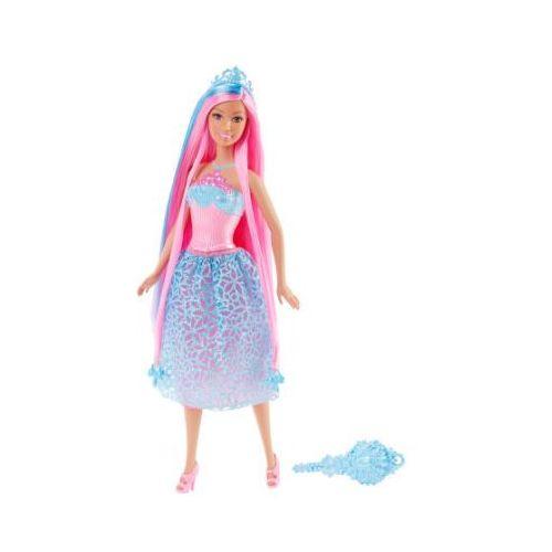 Barbie Mattel magiczne włosy księżniczka - kolor niebieski