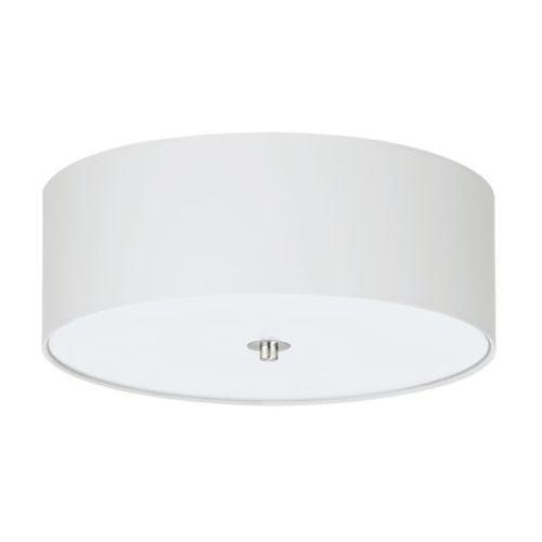 Eglo Plafon pasteri 94918 lampa oprawa sufitowa z abażurem 3x60w e27 biały (9002759949181)