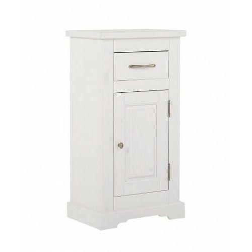 COMAD szafka niska Romantic white (półsłupek) ROMANTIC 810, kolor biały