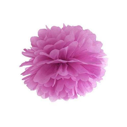 Ap Dekoracja wisząca pompon kwiat - śliwkowa - 35 cm - 1 szt.