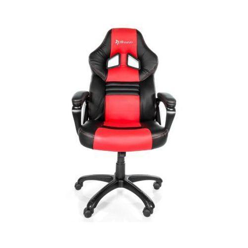 Fotel AROZZI Monza Czarno-czerwony