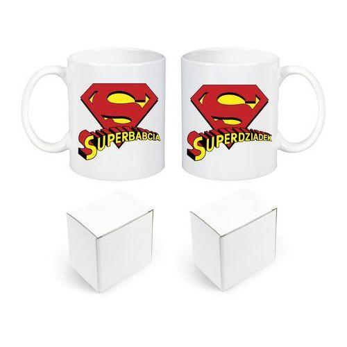 Komplet 2 Kubki Dzień Babci Dziadka Supermena - ZDB4