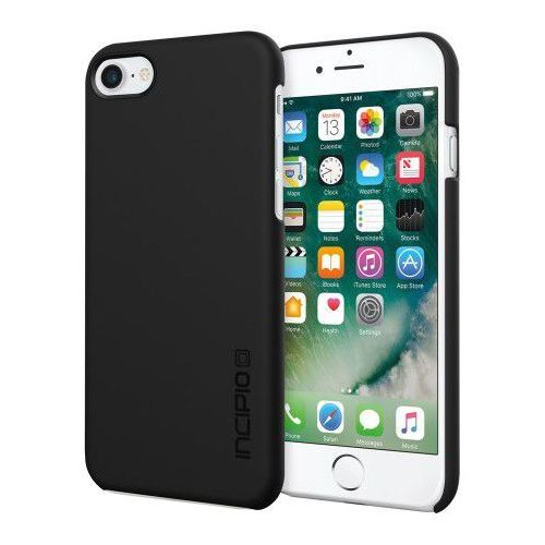 Etui Incipio Feather iPhone 7 - czarne - produkt z kategorii- Futerały i pokrowce do telefonów